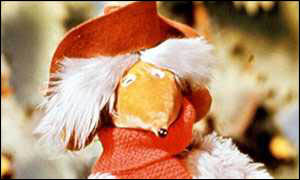 image: [ Orinoco, one of the Common's original Wombles ]