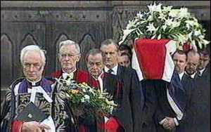 image: [ Final journey for Enoch Powell ]