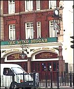 [ image: The East End - better known for crime, such as the murder committed in this pub by the Kray twins]
