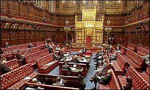image: [ The House of Lords, bedecked in sumptuous red leather, faces the prospect of major reform ]
