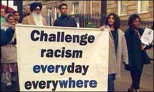 Anti-racism campaigners