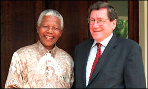 Holbrooke and Mandela