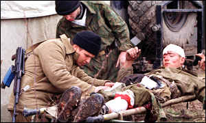 Russian wounded