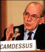 IMF head Michel Camdessus