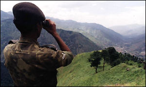 Indian soldier near Line of Control