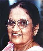 She has often quarrelled with mother Sirimavo Bandaranaike