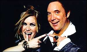 Cerys Matthews and Tom Jones