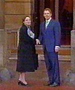 Tony Blair and Bairbre de Brun
