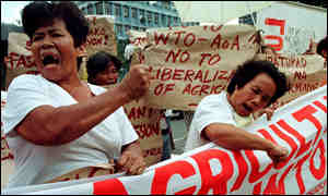 Protesters in the Phillipines