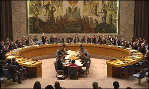 The UN Security Council agrees resolution 1248