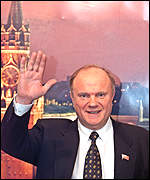 Gennady Zyuganov: not waving goodbye