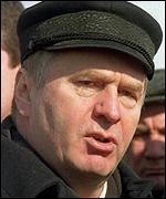 Vladimir Zhirinovsky often supports the Kremlin