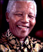 Nelson Mandela went on to be South Africa's first black president