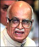 Home Minister Advani faces criminal charges