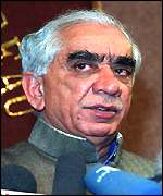 Jaswant Singh has been appreciative of the Taleban's efforts