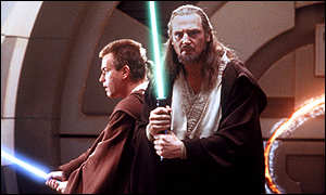 Liam Neeson(right): Starred alongside Ewan McGregor in The Phantom Menace
