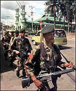 Soldiers in Ambon