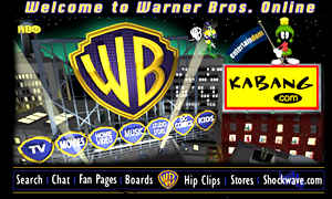 Warner Bros website