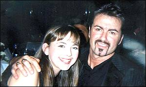 Charlotte Church and George Michael