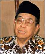 President Wahid of Indonesia