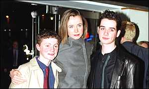 The film's stars Ciaran Owens, Emily Watson and Michael Legge