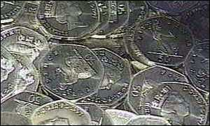 image: [ �54m worth of old 50ps have yet to be spent ]