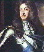 [ image: James II - left his crown in England, tried to regain it in Ireland...]