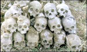 image: [ Millions died during Pol Pot's reign and Cambodia is still not at peace. ]