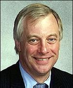 [ image: Chris Patten's book was praised by editor Stuart Profitt]