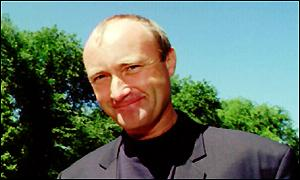 image: [ Phil Collins doubts Diana would have approved ]