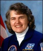 [ image: Shannon Lucid: holds the record for women staying in space]