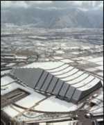 [ image: The M-Wave skating rink in Nagano]