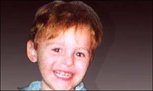 image: [ Two-year-old James Bulger was killed by schoolboys ]