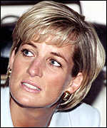 [ image: Thousands sent electronic messages of condolence after Diana's death]