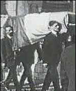 [ image: McSwiney's death creates a martyr]