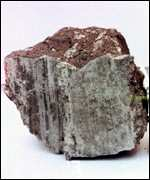 [ image: A meteorite found on Earth]
