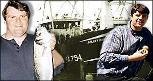 Skipper, brother and boat graphic