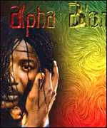 Alpha Blondy on postcard
