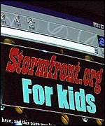 Don Black's young son runs Stormfront for kids