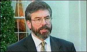 Gerry Adams after his White House meeting
