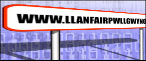 Llanfair PG graphic