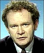 Martin McGuinness:  Did not take oath of allegiance