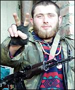 Chechen Victory sign