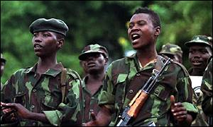 congo rebel soldiers