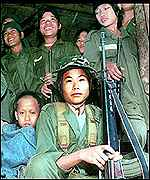children members of god's army