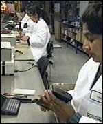 Psion factory workers