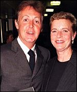 Sir Paul and Linda McCartney