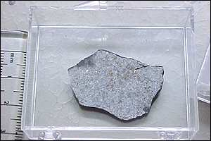 The Natural History Museum is analysing the meteorites