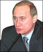 Acting President Putin: Good news from Grozny