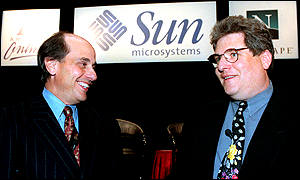 Sun Microsystems and AOL have joined forces